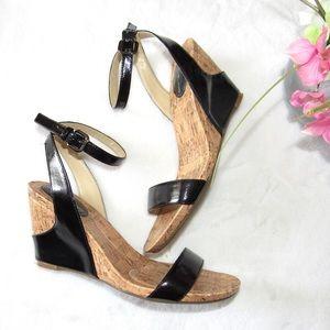 Moderngirl Black Wedge Sandals